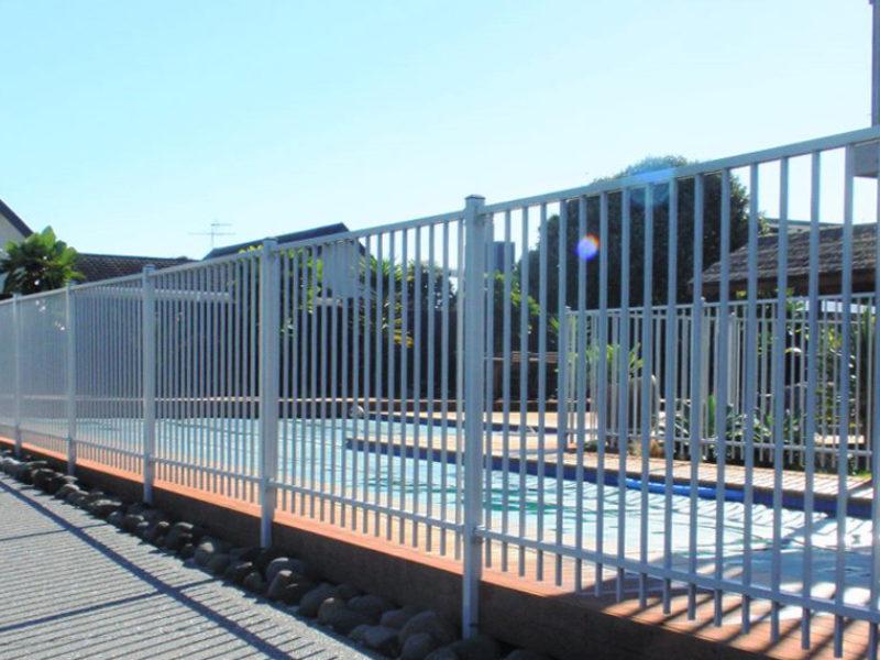 Metal Pool Fences Frontline Fencing Nz